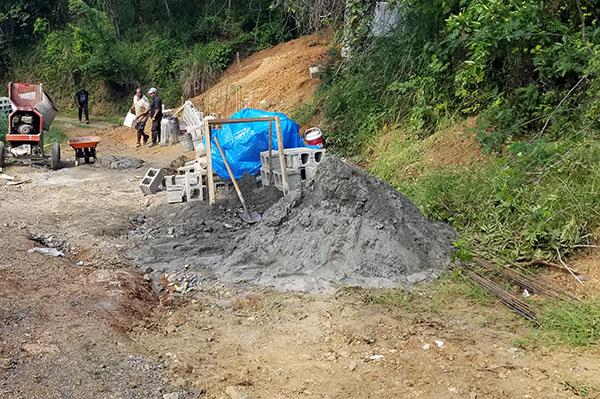 cistern building materials